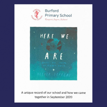 'Here We Are' – Our Lovely Illustrated Book From Our Fantastic Children